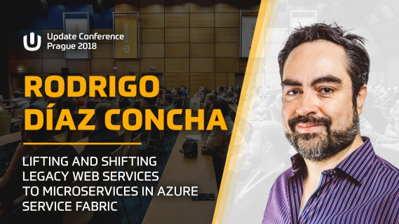 Lifting and Shifting Legacy Web Services to Microservices in Azure Service Fabric